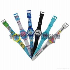 時霸表業SWATCH雙字面手錶