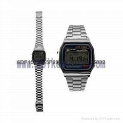 高档商务金属手表