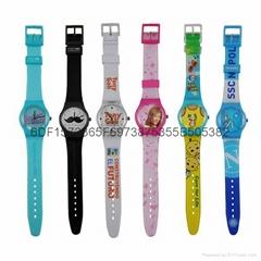 swatch广告促销礼品手表