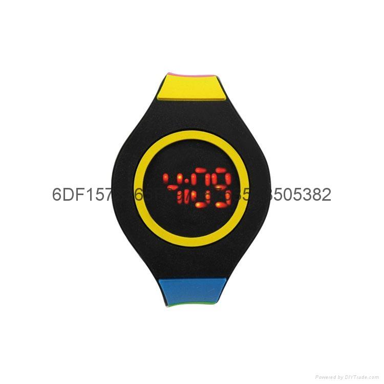新款時尚超薄LED手錶 1