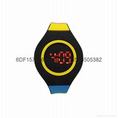 新款時尚超薄LED手錶