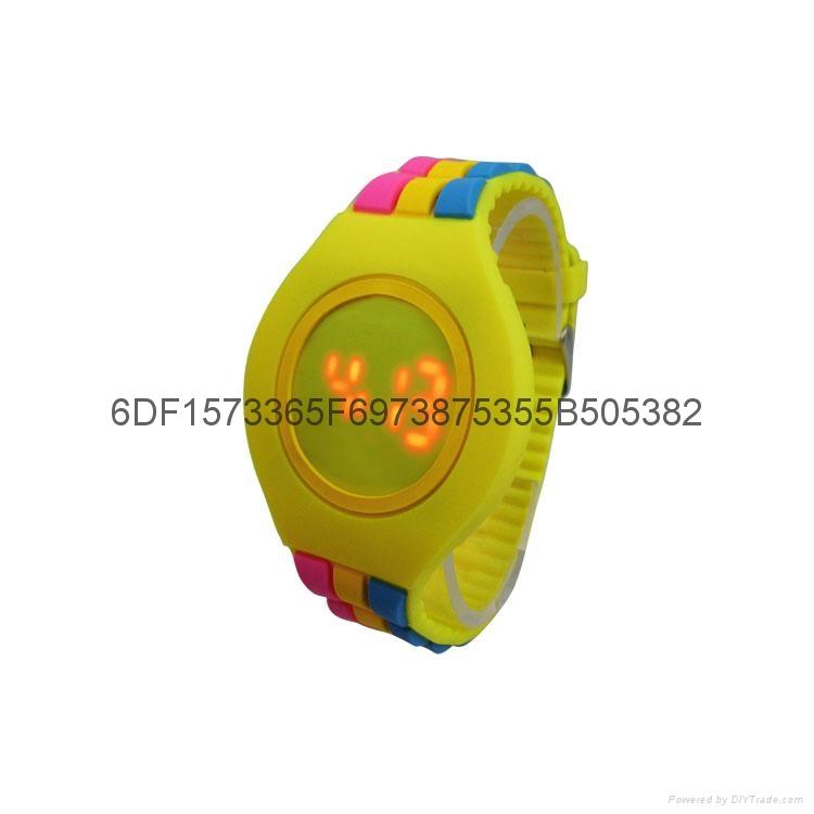 新款時尚超薄LED手錶 2