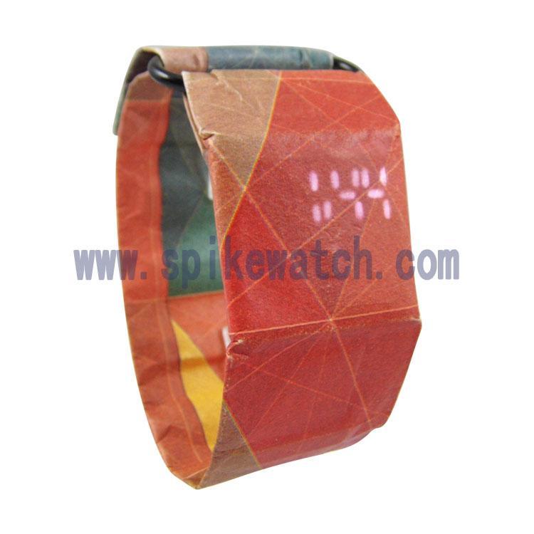 新款德国超薄防水纸手表 5
