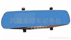风驰龙双录后视镜式行车记录仪/FCL121
