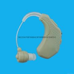耳背式可充电助听器/老年人无线遥控器耳聋机
