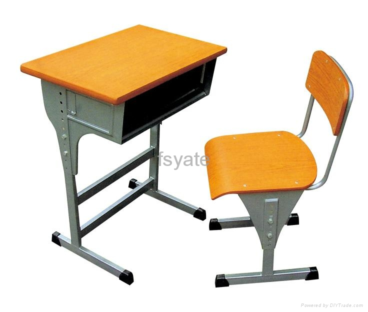 Mdf With Melamine Surface School Desk China Manufacturer Product