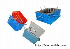 定塑料周转箱模具