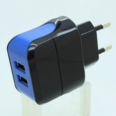 Dual USB 5V 2.1A 10W Android Adapter