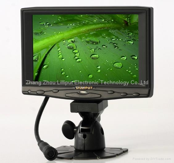 "LILLIPUT 7"" LCD Touch Screen VGA Monitor (619GL-70NP/C/T) 1"