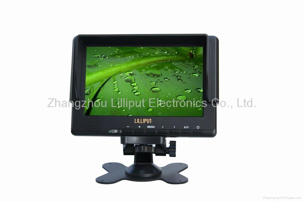 "LILLIPUT 7"" Camera Monitor with HD-SDI, HDMI & YPbPr Input  1"