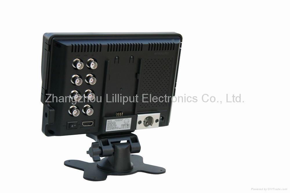 "LILLIPUT 7"" Camera Monitor with HD-SDI, HDMI & YPbPr Input  3"
