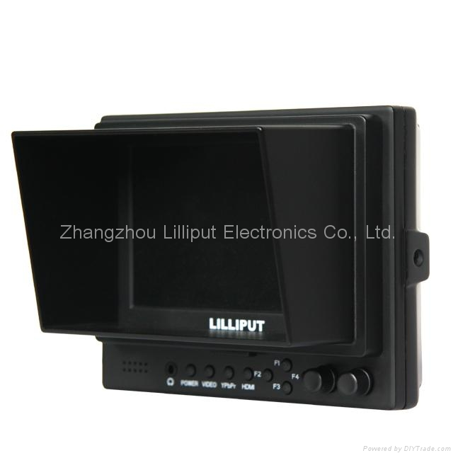 """LILLIPUT 5"""" LCD Video Camera Monitor, HDMI output, with Peaking"""