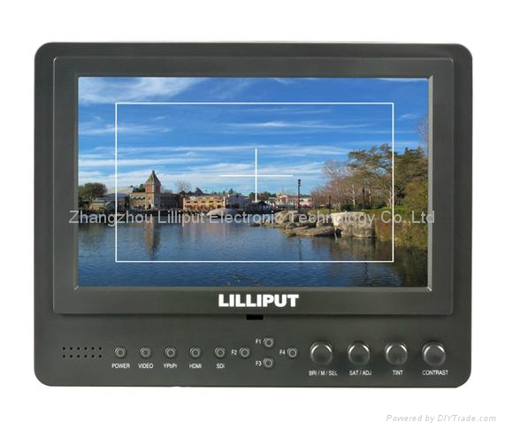 """LILLIPUT 7"""" LCD Video Camera Monitor with Peaking (665/O/P) 3"""