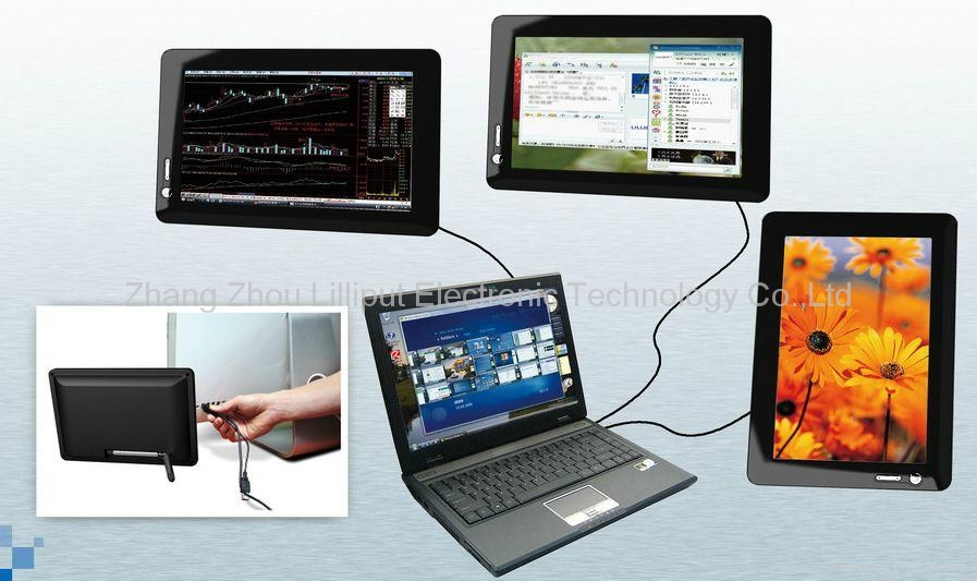 Usb Powered Monitor : Lilliput usb powered monitor um c t china