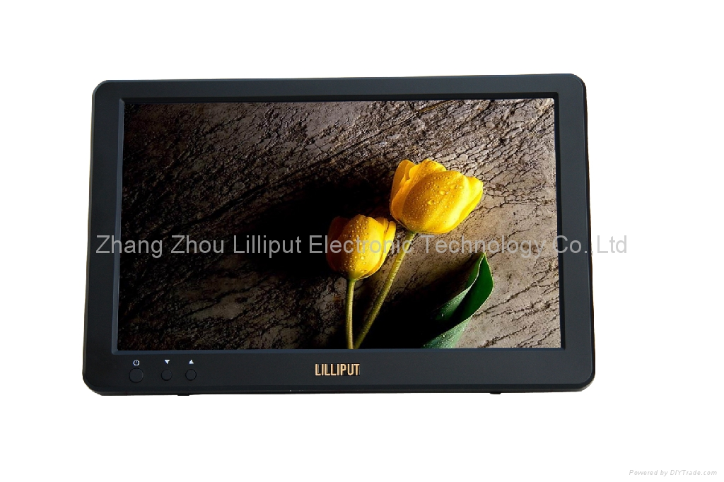 LILLIPUT 10.1'' USB powered monitor, built in speaker (UM-1012/C/T)
