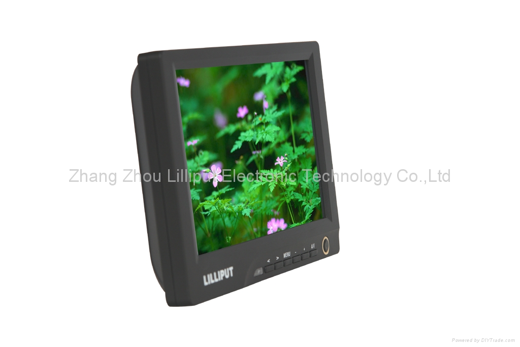 """LILLIPUT 8"""" LCD Touch Monitor with DVI & HDMI Input 869GL-80NP/C/T 5"""