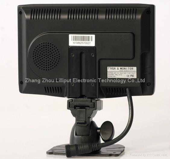 "LILLIPUT 7"" LCD Touch Screen VGA Monitor (619GL-70NP/C/T) 2"