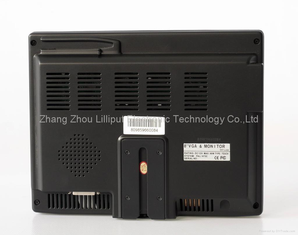 "LILLIPUT 8"" VGA MONITOR(809GL-80NP/C/T) 3"