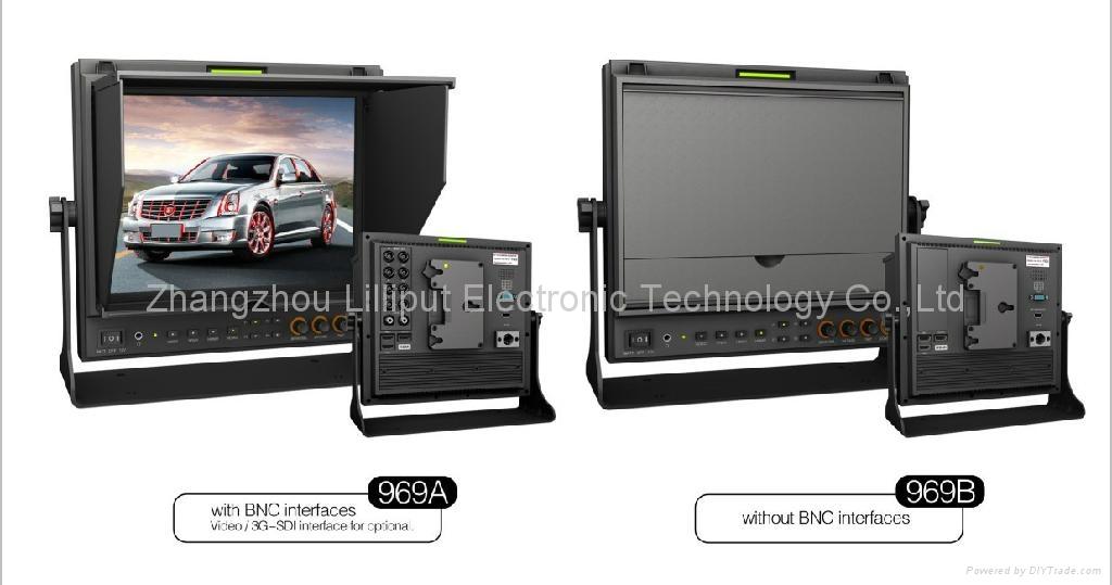 NEW!!! LILLIPUT 9.7'' Field Monitor with SDI,Component,HDMI input 1