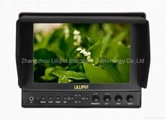 "Lilliput 7"" IPS panel 1280*800,Professional Broadcast Monitor (663/S)"