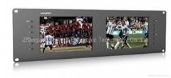 "Lilliput 7"" 3ru Rack Monitors with dual 3G-Sdi and HDMI Inputs (RM-7028S)"