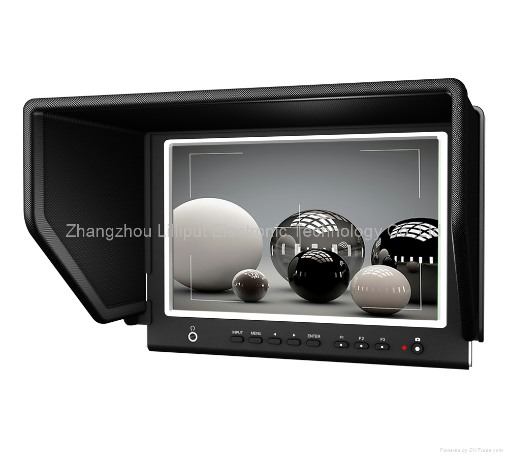 """Lilliput 7"""" LCD Camera-top Monitor with HDMI input for DSLR(664/P)"""