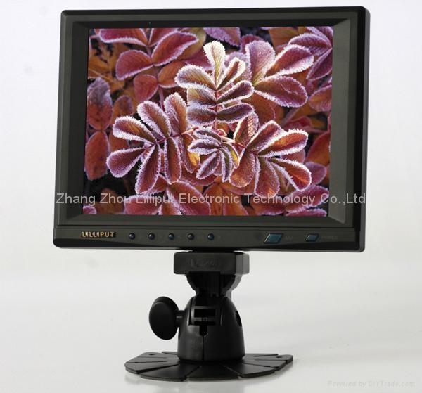 """LILLIPUT 8"""" touchscreen VGA MONITOR(859GL-80NP/C/T) 1"""