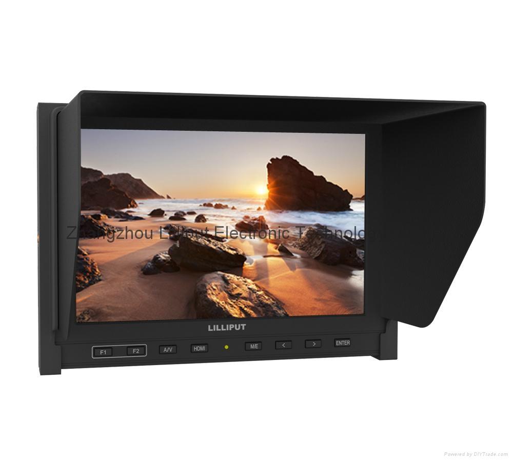 "7"" Camera-top Monitor, IPS panel (339) 1"