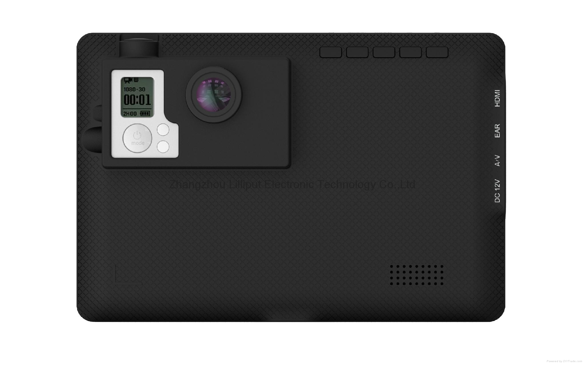 7'' LCD Monitor Design for GoPro Series 3