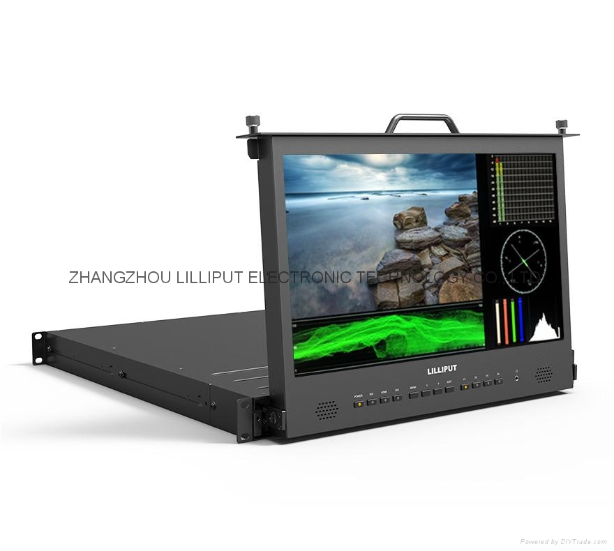 17.3'' 1RU Pull-out Monitor - RM-1730/S 5