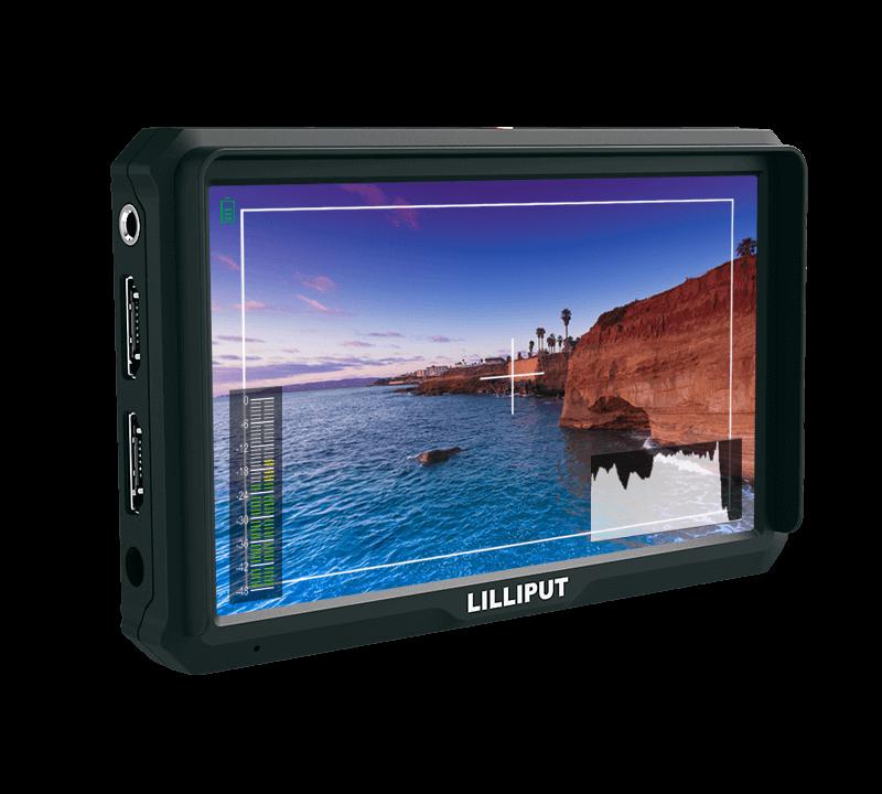 5'' camera top monitor