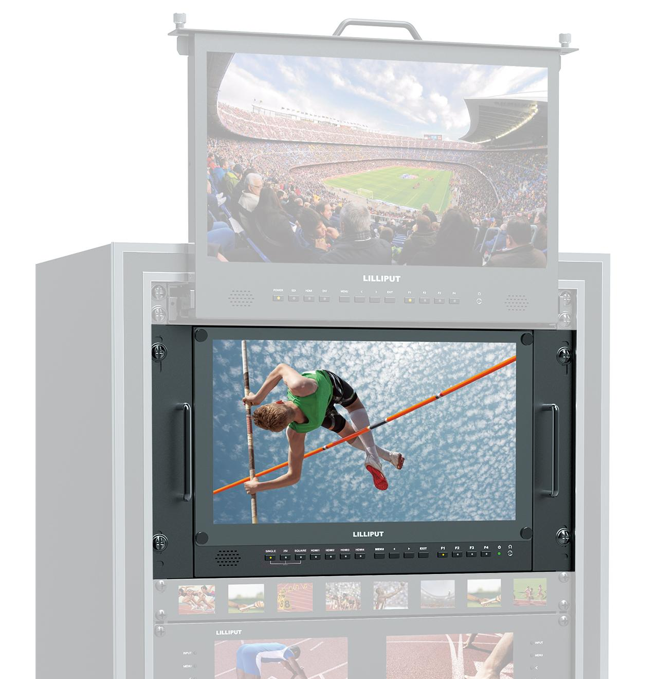 23.8inch 4K resolution Broadcast Field Monitor with HDR, 3D-LUT&Color space    14