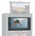 28inch 4K resolution Broadcast Field Monitor with HDR, 3D-LUT&Color space   14