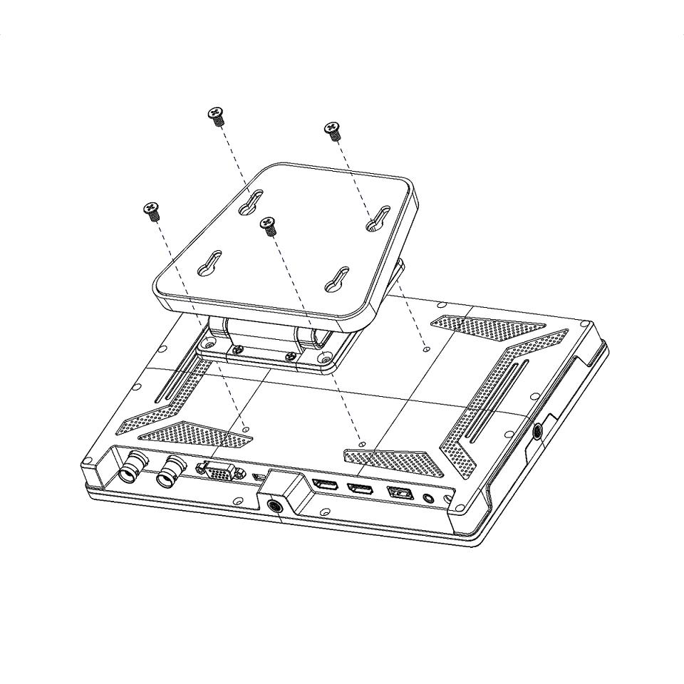 LILLIPUT 10.1'' FHD HDMI/SDI Monitor 7