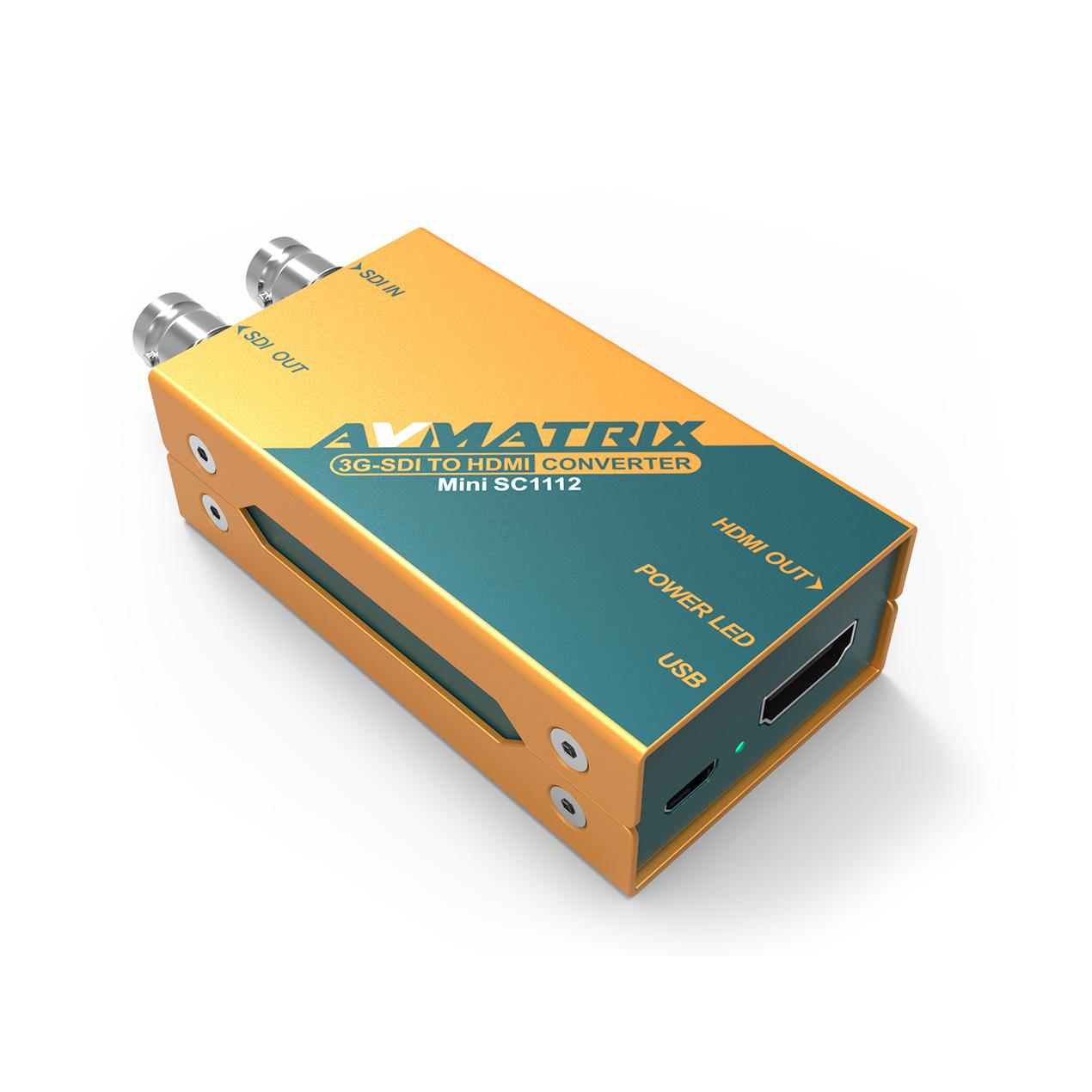 AVMATRIX 3G-SDI to HDMI Pocket-size broadcast Converter 1
