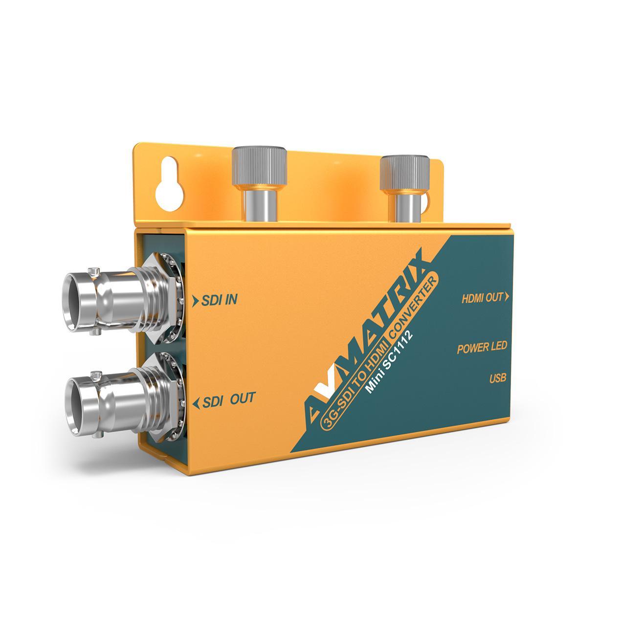 AVMATRIX 3G-SDI to HDMI Pocket-size broadcast Converter 4