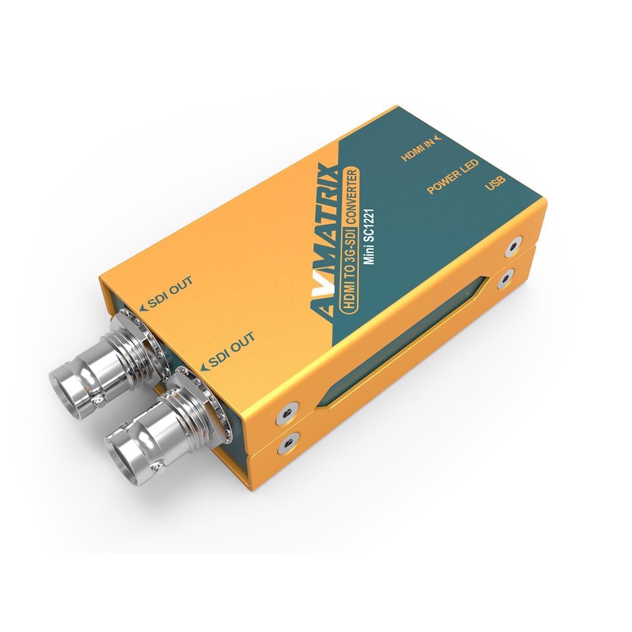 AVMATRIX HDMI to 3G-SDI Pocket-size broadcast Converter 2