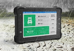 "7"" In-Vehicle Tablet Android 7 embedded computer with J1939, OBD-II,RS232"