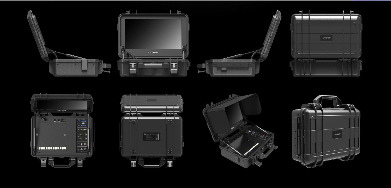 LILLIPUT BM120-4KS Broadcast Director Monitor Portable Film Production Monitor 9