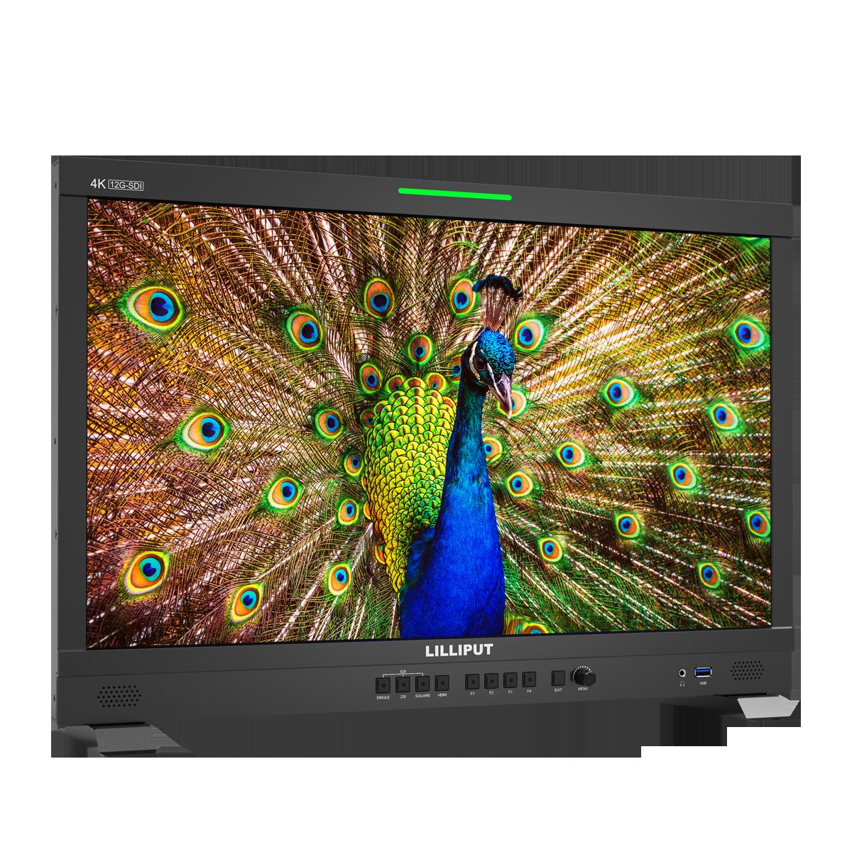 LILLIPUT 23.8inch UHD 12G-SDI,HDMI 2.0 broadcast  production studio monitor 2