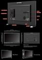 LILLIPUT 23.8inch UHD 12G-SDI,HDMI 2.0 broadcast  production studio monitor 11