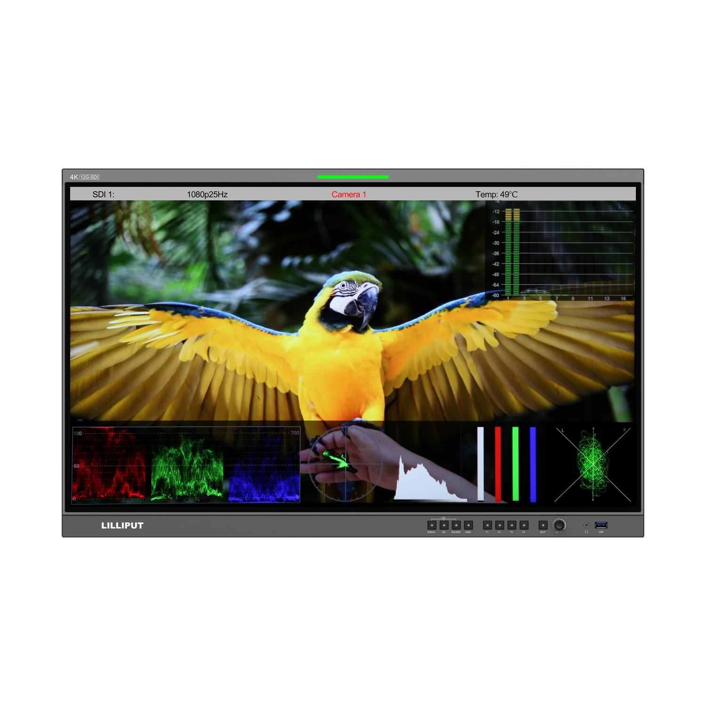 12G-SDI broadcast production monitor