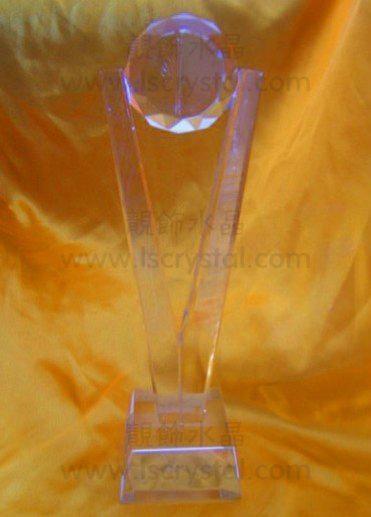 珠海靚飾水晶獎杯定製的水晶獎杯 3