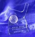 水晶奖杯 珠海水晶奖杯 高尔夫奖杯 3