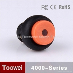 illuminated high flat push button switch