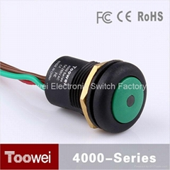 16mm 24V momentary push button switch