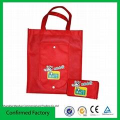 Custom folded non woven bag