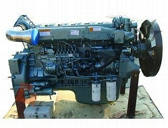 HOWO WD615.69 EURO 2 ENGINE NEW MODEL