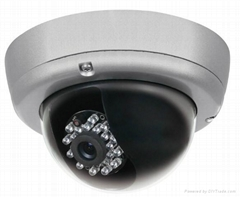 IR vandalproof Dome camera with CE certificate