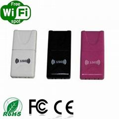 Nano MINI 150Mbps Wirelss Wifi USB dongle